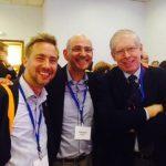 Jan Geissler, Andrew Schorr and ePatientDave at ESMO