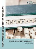 Patient Empowerment Network Manager Program