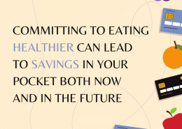 Committing to Eating Healthier Can Lead to Savings in Your Pocket Both Now and in the Future