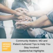 Virtual #patientchat Highlights