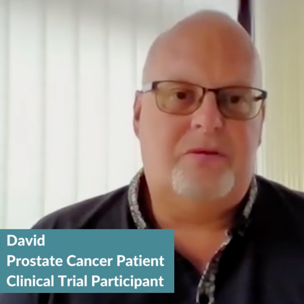 Advanced Prostate Cancer: David's Clinical Trial Profile