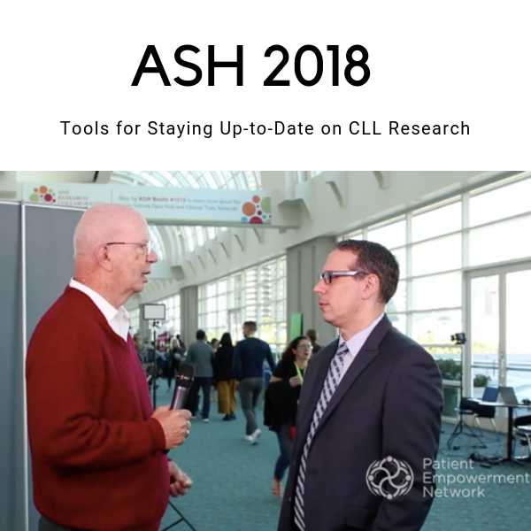 ASH 2018 - Tools for Staying Up-to-Date on CLL Research