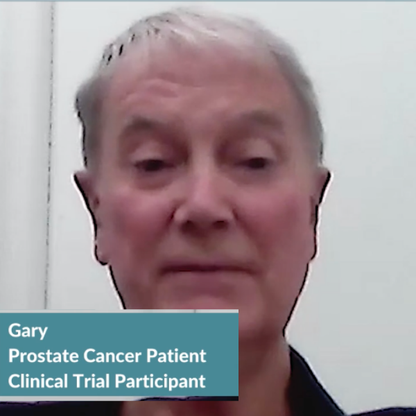 Advanced Prostate Cancer: Gary's Clinical Trial Profile