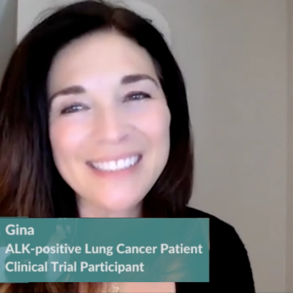 Lung Cancer: Gina's Clinical Trial Profile