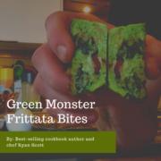 Green Monster Frittata Bites