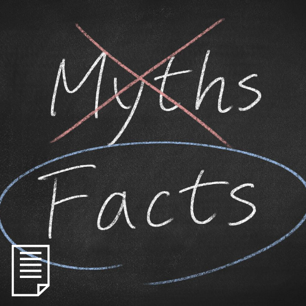 Myths vs. Facts: Myeloma Health Disparities Care Infographic