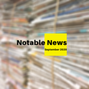 September 2020 Notable News