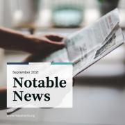 Notable News September 2021