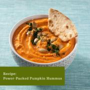 Power-Packed Pumpkin Hummus
