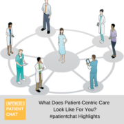 What Does Patient-Centric Care Look Like For You? #patientchat Highlights