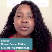Triple-Negative Breast Cancer: Sharon's Clinical Trial Profile