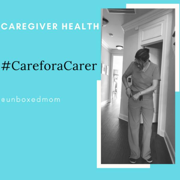 Caregiver Health #CareforaCarer