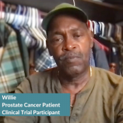 Advanced Prostate Cancer: Willie's Clinical Trial Profile