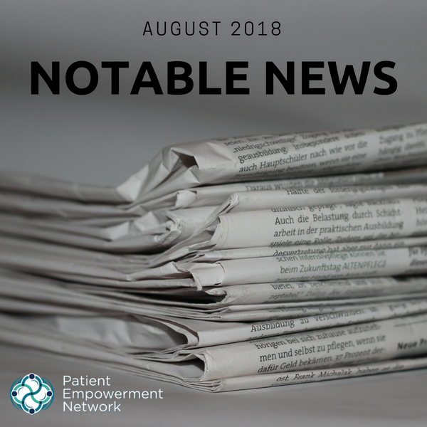 Notable News: August 2018