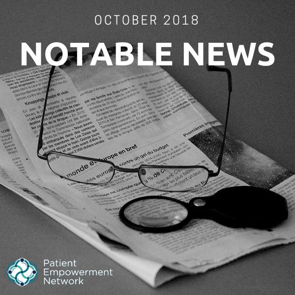 Notable News: October 2018